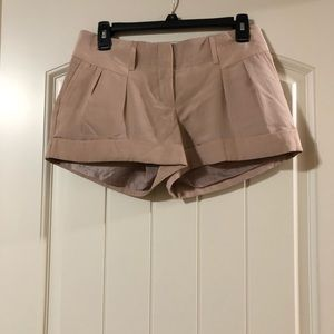 NWOT EXPRESS LINED shorts